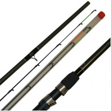 10FT, CARBON COLOUR FEEDER ROD LDFS-1002+3 Fibre Glass, extra £10.00 of price when collected from store