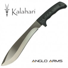 14 inch Kalahari Machete with Micarta Handle, 3Cr SS Blade and Heavy Duty Sheath