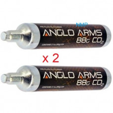 Anglo Arms 88 gram 88g 3.1oz Airsource Co2 Cartridge for co2 Air Guns