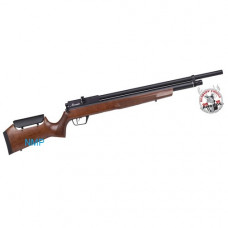 CROSMAN BENJAMIN MARAUDER PCP Pre Charged Air Rifle, 10 Shot Ambi-Dextrous Wooden Stock 11.5 ft, lbs .177 Calibre
