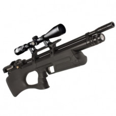KRAL Breaker BULLPUP PCP Pre Charged Air Rifle .177 calibre 14 shot Black Synthetic