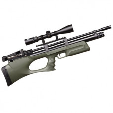 KRAL Breaker BULLPUP PCP Pre Charged Air Rifle .22 calibre 12 shot Green Synthetic