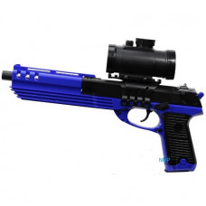 M39GL Spring 6mm BB Airsoft Pistol 15 shot Blue/Black