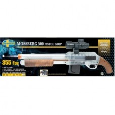 6mm AIRSOFT Mossberg 500 Mad Max Shotgun clear 6mm BB
