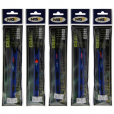 NGT ready tied Pole Rigs Coarse A pack of 10 Assorted
