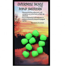 Enterprise Tackle ARTIFICIAL, IMITATION BAITS Sweetcorn Green Pop Up
