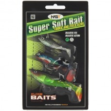 Pack of 3 Super Soft Baits (SB-002)