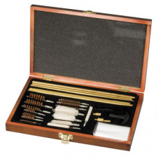 Air Rifle and Shotgun Deluxe Cleaning Kit In Wooden Presentation Case SMK