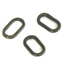 Sixth Sense Oval Rig Rings ( 4mm ) Pack of Ten