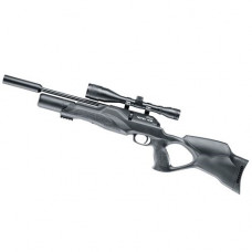 Walther Rotex RM8 Varmint Ultra Compact Thumbhole PCP Pre charged rifle .22 calibre air gun pellet with silencer