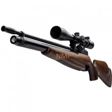 Webley Raider 12 Sporter PCP Pre Charged Air Rifle, Ambi Dextrous Wooden Stock 11.5 ft /lbs .177 calibre 14 shot