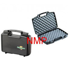 Flambeau Hard Pistol Case Large 17 inch x 11 inch x 3.25 inch Black with sliding lockable latches and full egg shell foam (1711)