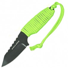 Dagger 7 inch with green laced handle and Nylon Sheath (149)
