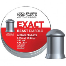 JSB Exact Beast Pellets 4.52mm .177 Calibre 16.20 grain Tin of 250