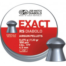 JSB Exact RS Pellets 4.52mm .177 Calibre 7.33 grain Tin of 500