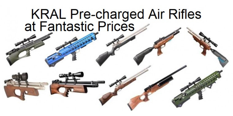 Kral pcp air rifles