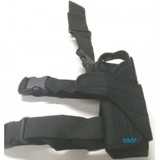 Adjustable Pistol LEG HOLSTER BLACK