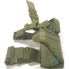Adjustable Pistol LEG HOLSTER GREEN